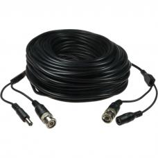 Võimsus-ja signaali kaabel 30m BNC+5,5mm
