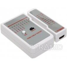 KABELIŲ BANDYMO PRIETAISAS HDMI WZ-0017 LOGILINK