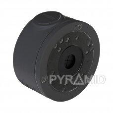 Kameros laidų jungiamoji dėžutė - montavimo bazė B310DG, metalinė, tamsiai pilka