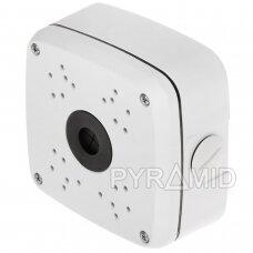 Kameros laidų jungiamoji dėžutė - montavimo bazė B330, balta