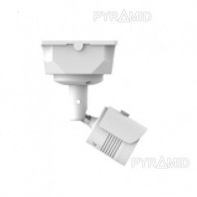 Kameros laidų jungiamoji dėžutė - montavimo bazė B116, plastikinė, balta 2