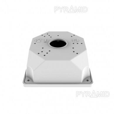 Kaamera klamber B116, plastik, valge