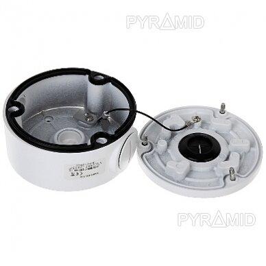 Kameros laidų jungiamoji dėžutė - montavimo bazė B310, balta 4