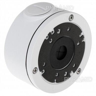 Kameros laidų jungiamoji dėžutė - montavimo bazė B310, metalinė, balta