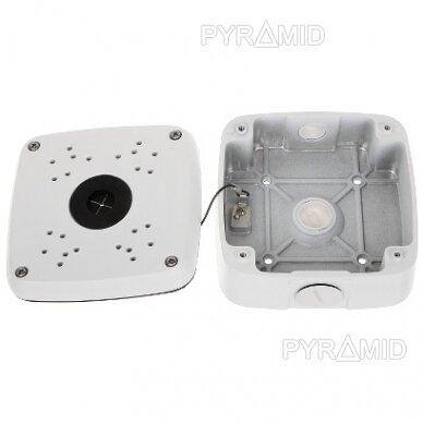 Kameros laidų jungiamoji dėžutė - montavimo bazė B330, balta 6