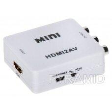 KONVERTERIS HDMI/AV