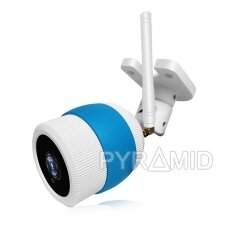 Lauko IP stebėjimo kamera PYRAMID PYR-SH130K, su WIFI, micro SD jungtis, 960p