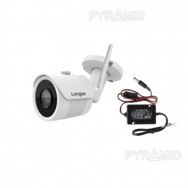IP kamera Longse LBH30FK500W, 5 Megapikselių, WiFi, microSD jungtis, iki 40m naktinis matymas 6