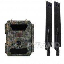 Medžiotojų kamera Willfine 4.0CG, 52° kampas, 4G, GPS, 20m IR, 12Mp foto, 1080p video, App kontrolė