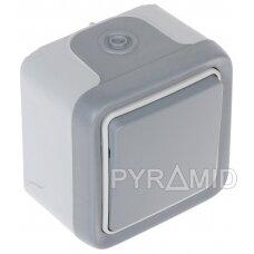 PAVIENIS MOMENTINIS MYGTUKAS LE-069720 230 V 10 A LEGRAND