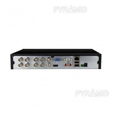 Pentabridinis 8 kamerų vaizdo įrašymo įrenginys Longse XVRDA3108D, iki 8Mp AHD, iki 8Mp IP 4