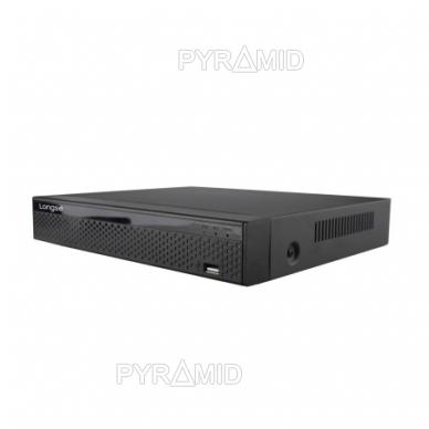 Pentabridinis 8 kamerų vaizdo įrašymo įrenginys Longse XVRDKA3108DB, iki 8Mp AHD, iki 8Mp IP 4