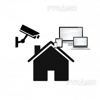 Pilnas kamerų įrašymo įrenginio XVR/NVR konfigūravimas darbo vietoje, įskaitant telefonų ir kompiuterių programų įrašymą bei apmokymą naudotis