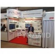 PYRAMID pristato LONGSE kameras parodoje RESTA 2018