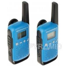 RINKINYS 2 RADIJO TELEFONŲ PMR MOTOROLA-T42 446.1 MHz ... 446.2 MHz