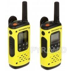 RINKINYS 2 RADIJO TELEFONŲ PMR MOTOROLA-T92/H2O 446.1 MHz ... 446.2 MHz