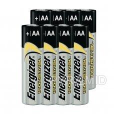 Šarminės baterijos AA/LR6 ENERGIZER Industrial, 1,5V x 8 vnt.