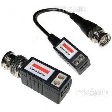 Signalo keitiklių komplektas UTP kabeliams į analoginį signalą (2 vnt.)