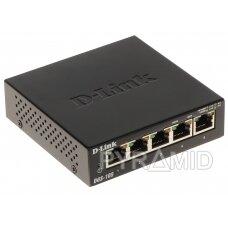 SWITCH   DGS-105/E 5 PRIEVADŲ D-Link