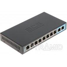 SWITCH POE BCS-B-SP0802 8 PRIEVADŲ BCS BASIC