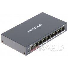 SWITCH POE DS-3E0109P-E/M(B) 8 PRIEVADŲ Hikvision