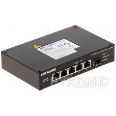 SWITCH POE DS-3T0306HP-E/HS 4 PRIEVADŲ SFP Hikvision