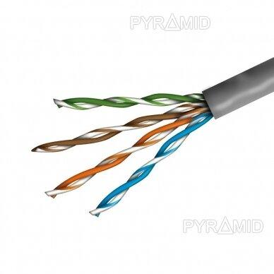 Tinklo kabelis UTP 1m be antgalių