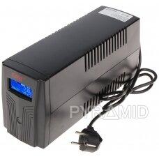 UPS MAITINTUVAS AT-UPS650BK-LCD 650 VA EAST