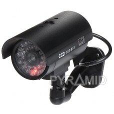 Vaizdo stebėjimo kameros muliažas (imitacija) ACC-102B/LED/Z
