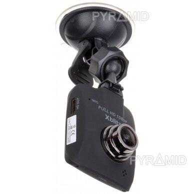 Vaizdo registratorius Xblitz Black Bird 2.0 GPS 1080P, su mikrofonu 3