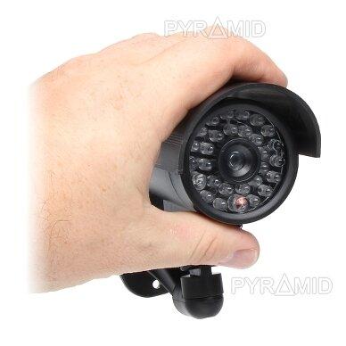 Vaizdo stebėjimo kameros muliažas (imitacija) ACC-102B/LED/Z 2