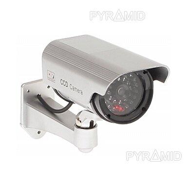 Vaizdo stebėjimo kameros muliažas (imitacija) ACC-103S/LED