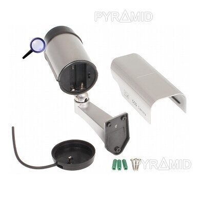 Vaizdo stebėjimo kameros muliažas (imitacija) ACC-103S/LED 3