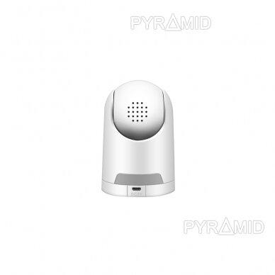 Valdoma IP kamera Pyramid PYR-SH200TC, 2Mpix, WIFI, MicroSD jungtis, SmartLife app 3