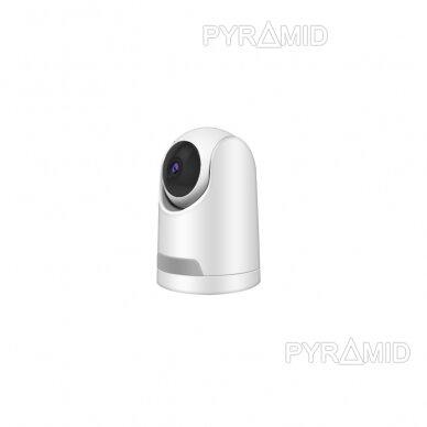 Valdoma IP kamera Pyramid PYR-SH200TC, 2Mpix, WIFI, MicroSD jungtis, SmartLife app 2
