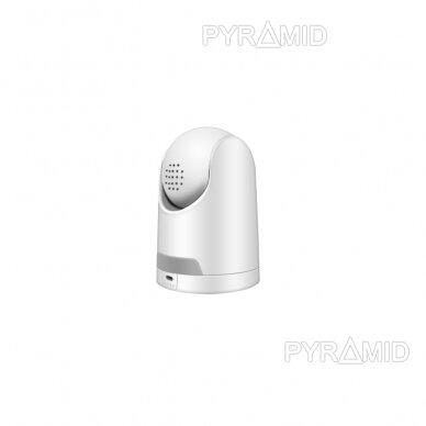 Valdoma IP kamera Pyramid PYR-SH200TC, 2Mpix, WIFI, MicroSD jungtis, SmartLife app 6