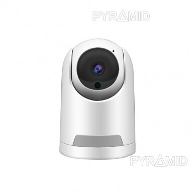 Valdoma IP kamera Pyramid PYR-SH200TC, 2Mpix, WIFI, MicroSD jungtis, SmartLife app