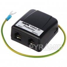 Viršįtampių/viršsrovio apsauga LAN tinklui AXON-VIDEO-IP