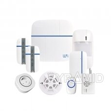 WIFI+GSM signalizacijos komplektas VCare3 su 868Mhz belaidžiais davikliais, C komplektas