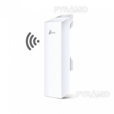 WIFI prisijungimo taškas CPE lauko sąlygoms AP/Router/Bridge/CPE, 2,4GHz, 9dbi, 300Mbps, Point to Point režimu iki 5Km veikimo nuotolis